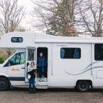 Camper van fasilitas 4 pax