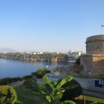 Hidirlik Tower dan pelabuhan Antalya