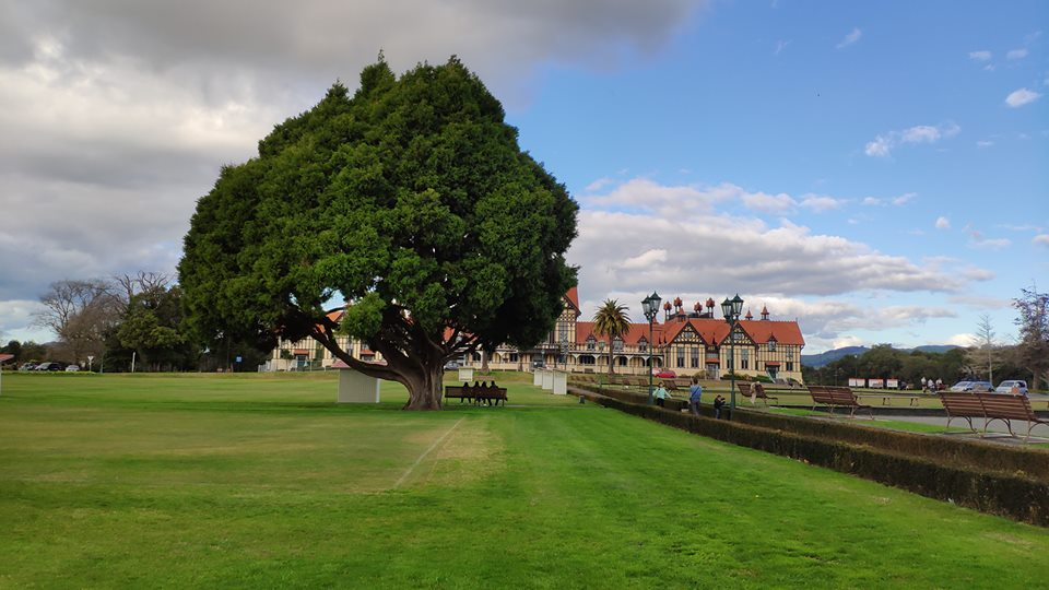 Rotorua government garden