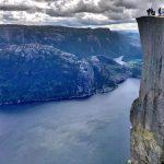 prenkestolen hill Norway