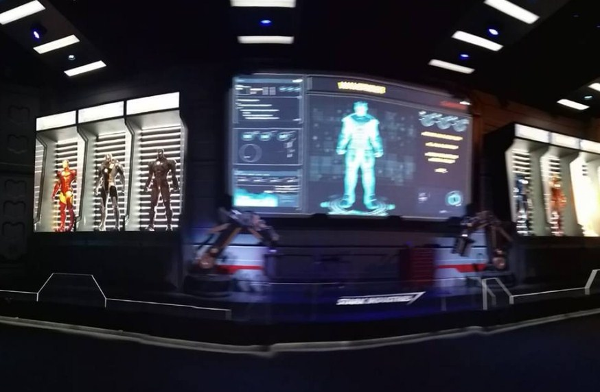 Interior di  The Marvel Experience Thailand