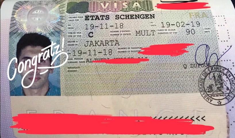 Cara membuat visa Schengen sendiri