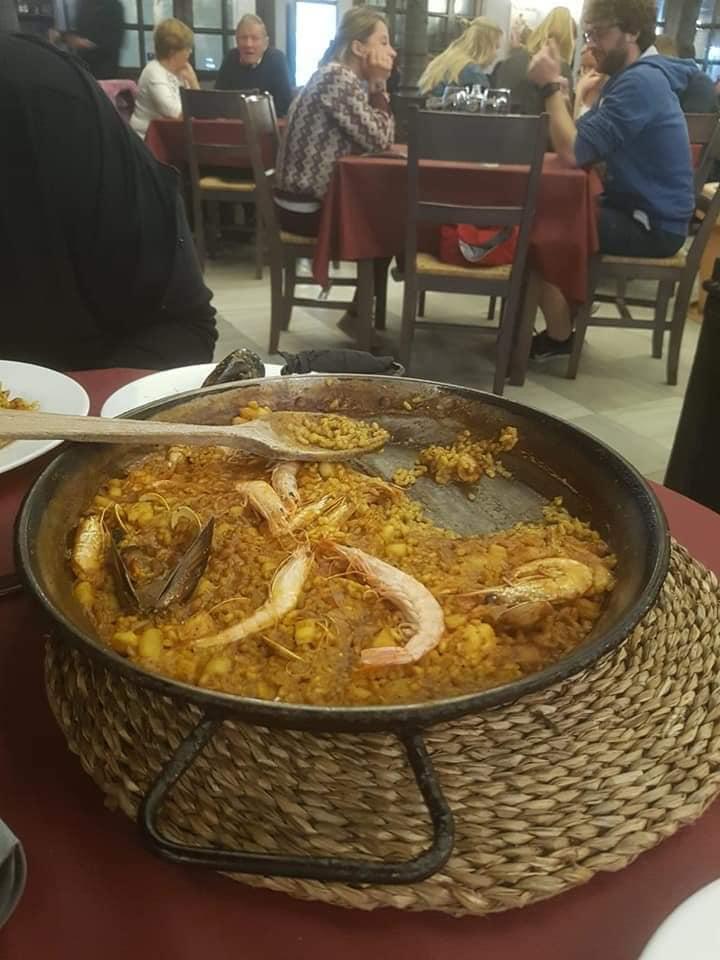Paella seafood <a class=